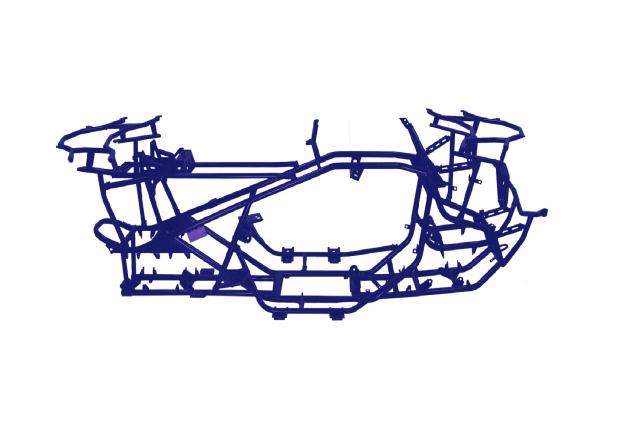 沙灘車車架